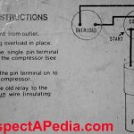 Electric Motor Starting Capacitor Wiring & Installation with Hard Start Capacitor Wiring Diagram