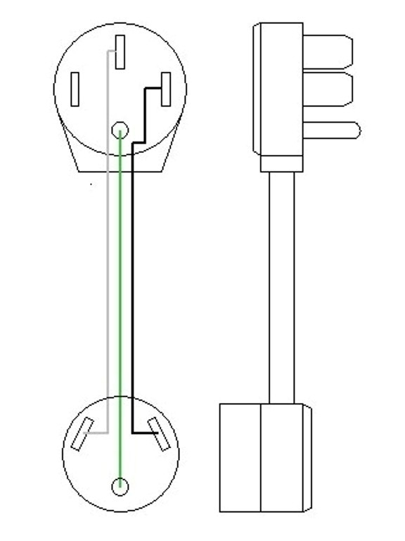 Electrical Adapters regarding 30 Amp Rv Plug Wiring Diagram