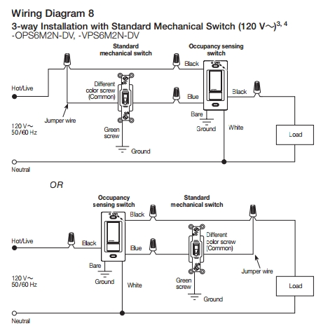 "Electrical - Are There ""uncommon"" 3-Way Switch Wirings? - Home intended for Lutron Maestro 4 Way Wiring Diagram"