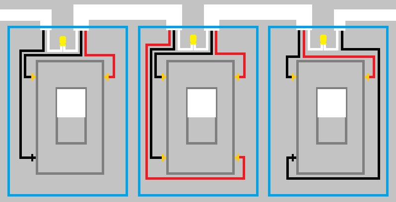 Electrical - How Can I Replace A 4-Way Mechanical Switch With in Lutron 4 Way Dimmer Wiring Diagram