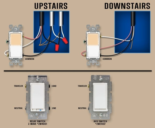 Electrical - How Should I Connect My Replacement 3-Way Switches in Leviton 3 Way Switch Wiring Diagram