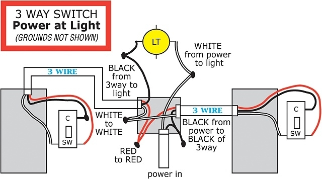 Electrical - Troubleshooting 3-Way Switch - Home Improvement Stack with How To Wire A 3 Way Switch Diagram