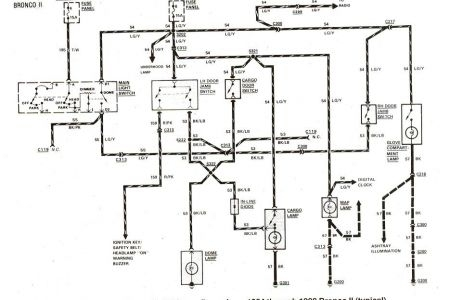 electrical wiring diagram 89 ford f 250 ford f radio