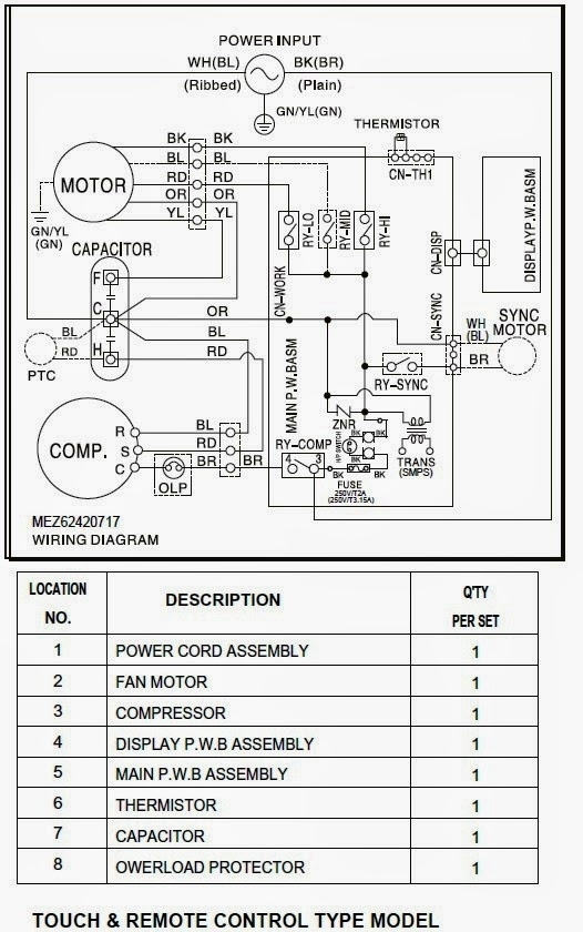 Electrical Wiring Diagrams For Air Conditioning Systems – Part Two throughout Ac Wiring Diagram