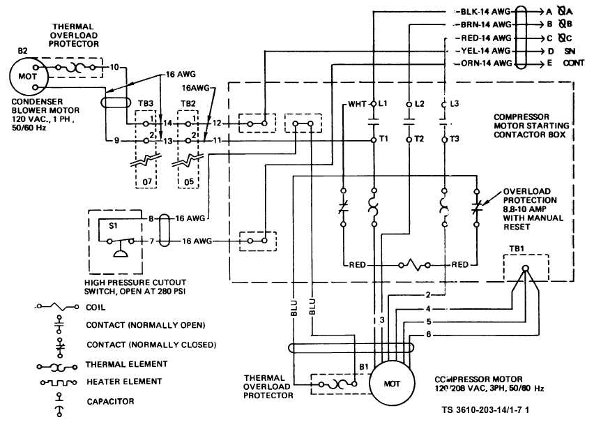 Electrical Wiring Diagrams For Air Conditioning Systems – Part Two with Ac Wiring Diagram