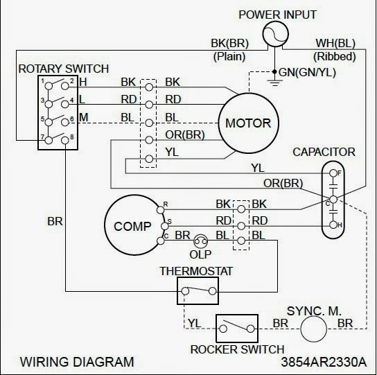 Electrical Wiring Diagrams For Air Conditioning Systems – Part Two within Electrical Wiring Diagram