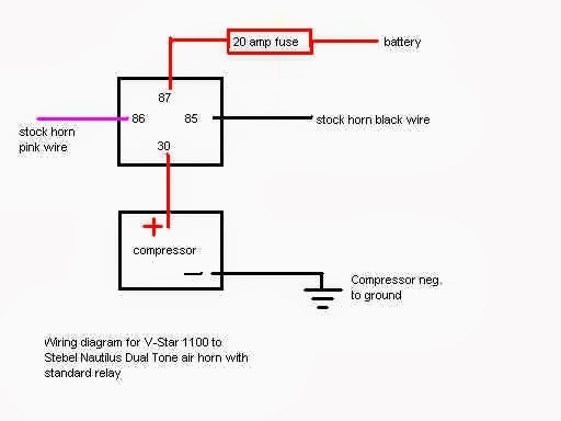 Relay Base Wiring Diagram : Accessory relay wiring diagram fuse box and