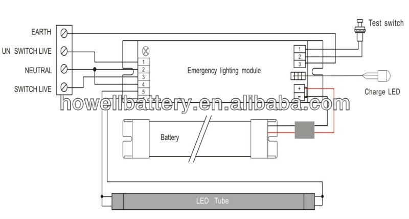 maintained emergency lighting wiring diagram  | 800 x 600