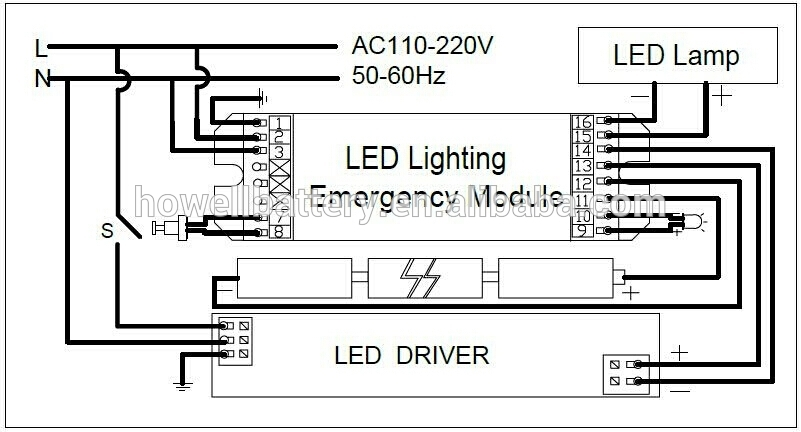 maintained emergency lighting wiring diagram emergency