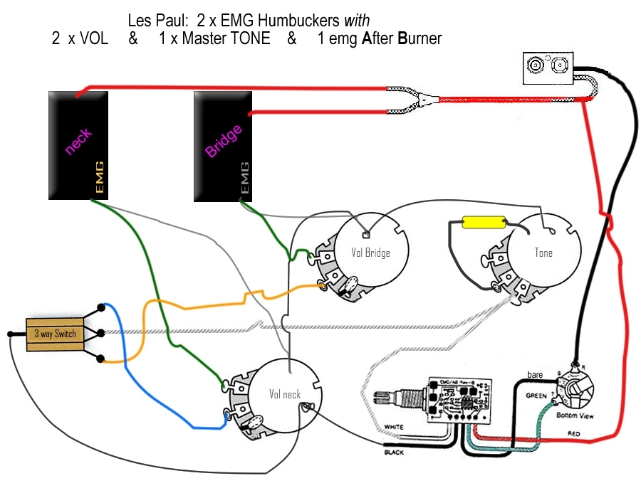 emg wiring diagram fuse box and wiring diagram H2A EMG Passive Pickup Wiring Diagrams Les Paul EMG Wiring-Diagram