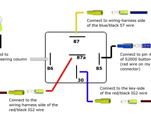 Exciting Wiring Diagram For 5 Pin Relay | Inspiring Wiring Ideas with 5 Post Relay Wiring Diagram