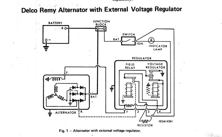 external regulator alternator wiring diagram pertaining to external regulator alternator wiring diagram regulator wiring diagram motorcraft electronic regulator wiring external voltage regulator wiring diagram at panicattacktreatment.co