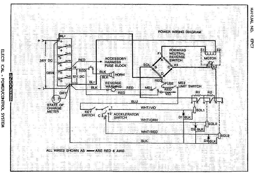 Ez Go Gas Golf Cart Wiring Diagram - Facbooik regarding 1987 Ez Go Golf Cart Wiring Diagram