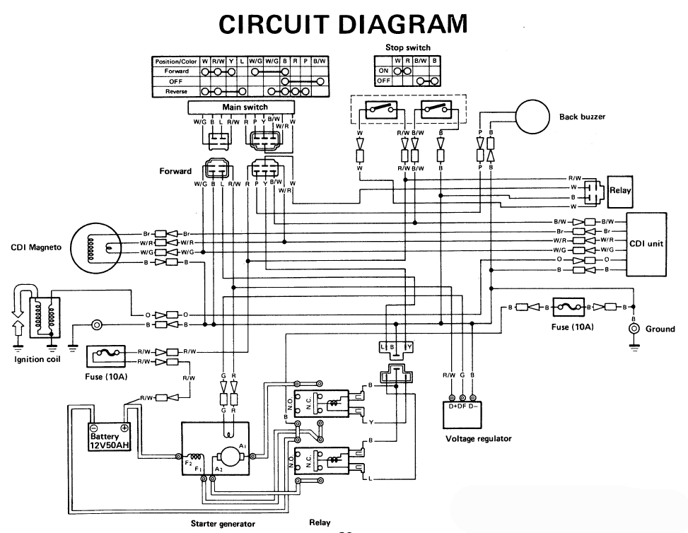 Wiring Diagram For Electric Golf Trolley : Ez go electric golf cart wiring diagram fuse box and