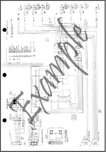 1968 Ford F100 Wiring Diagram