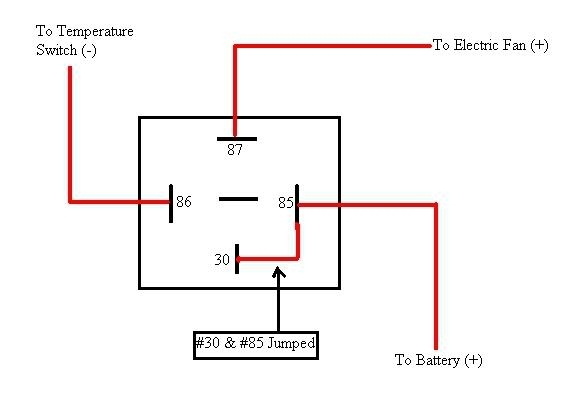 Fan Relay Wiring Car. Wiring Diagram Images Database. Amornsak.co pertaining to Electric Fan Relay Wiring Diagram