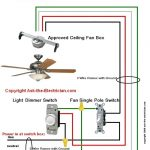 Fan Wiring Diagram #1 throughout Ceiling Fan Wiring Diagram