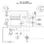 Fiat 124 Spider - Electrical Schemes with 124 Fiat Spider Wiring Diagram