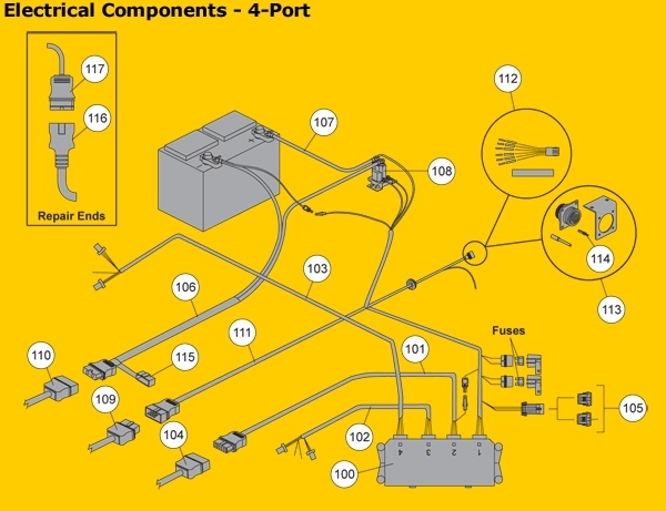 Fisher - Western Electrical Components regarding Fisher Minute Mount 2 Wiring Diagram