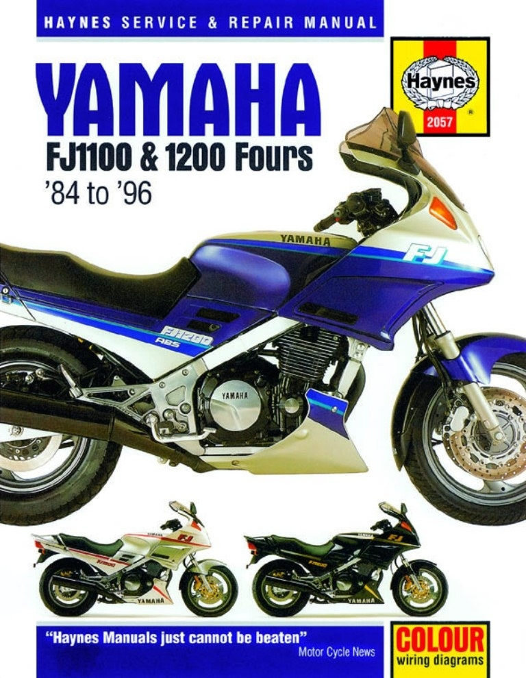 Fj1200 Workshop Manual - Man020 - Manuals And Parts Books - Parts with regard to Fj1200 Wiring Diagram
