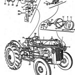 Ford 8N Tractor Wiring Diagram pertaining to Ford 8N Wiring Diagram