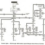 Ford Ranger Wiring By Color - 1983-1991 inside 93 Ford Ranger Wiring Diagram