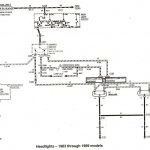 Ford Ranger Wiring By Color - 1983-1991 inside Ford Ranger Wiring Harness Diagram