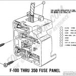 Ford Truck Technical Drawings And Schematics - Section H - Wiring within 1968 Ford F100 Wiring Diagram