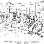 Ford Truck Technical Drawings And Schematics - Section I intended for 1968 Ford F100 Wiring Diagram