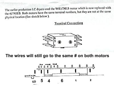 Ge Dryer Motor Replacement | Appliance Aid with regard to Ge Dryer Motor Wiring Diagram
