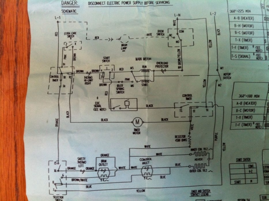 Ge Dryer Motor Wiring Diagram With Blueprint Pictures 35779 within Ge Dryer Motor Wiring Diagram