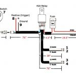 General Guide On How To Wire Relay Harness W/ On/off Switch pertaining to Led Light Bar Wiring Harness Diagram