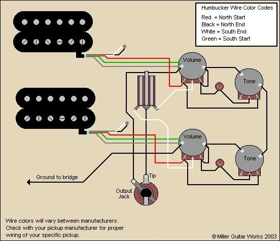 Gibson Wire Diagram Wiring Diagram For Epiphone Les Paul The intended for 50's Les Paul Wiring Diagram