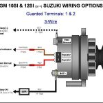 Gm 3 Wire Alternator Wiring Diagram with regard to Gm 3 Wire Alternator Wiring Diagram
