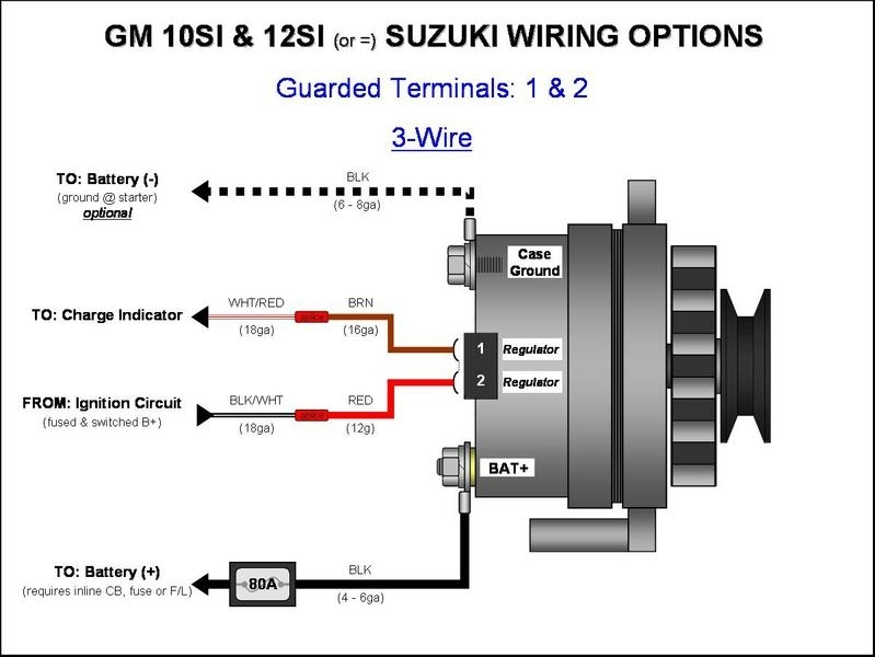 Wiring Diagram For Alternator With External Regulator : External regulator alternator wiring diagram fuse box
