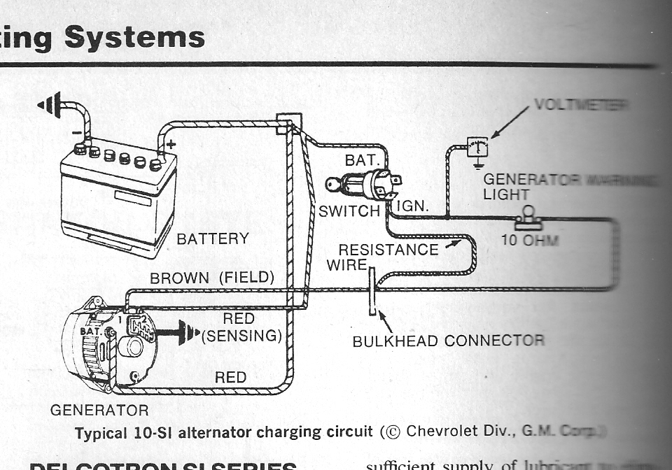 Gmc Alternator Wiring Diagram Gm Alternator Wiring Schematic Gm with regard to Gm Alternator Wiring Diagram