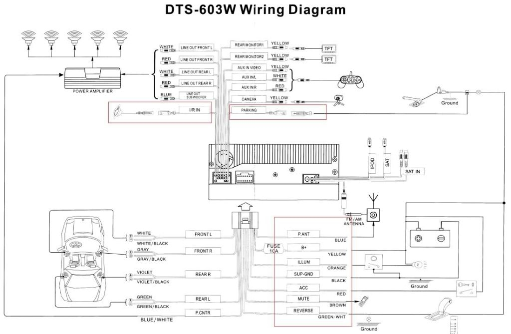 Gmos-04 Wiring Diagram With Installing New Head Unit And Amps with Gmos-04 Wiring Diagram