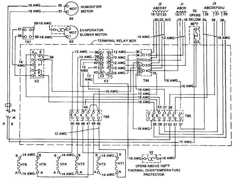 Goodman Air Handler Wiring Diagram intended for Goodman Air Handler Wiring Diagram