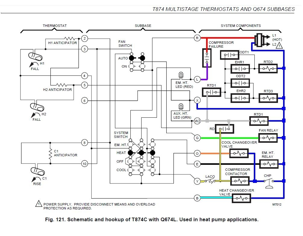 Great 10 Honeywell Thermostat Wiring Diagram Download Images inside Honeywell Wiring Diagram