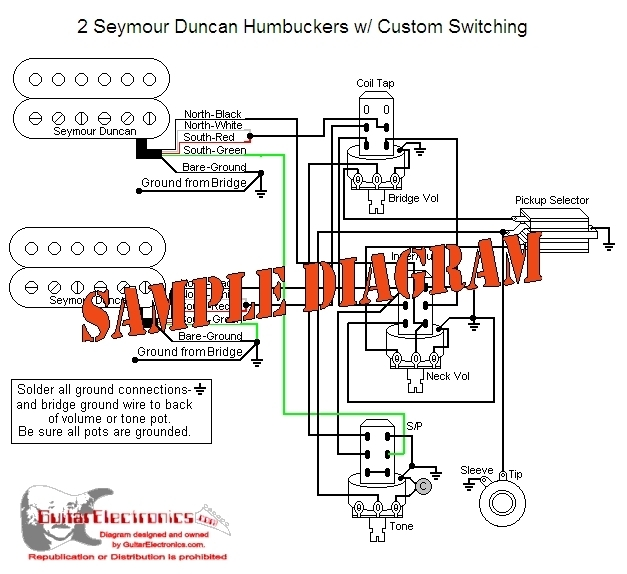 Guitardiagrams: Custom Drawn Guitar Wiring Diagrams From $29 in Guitar Wiring Diagram