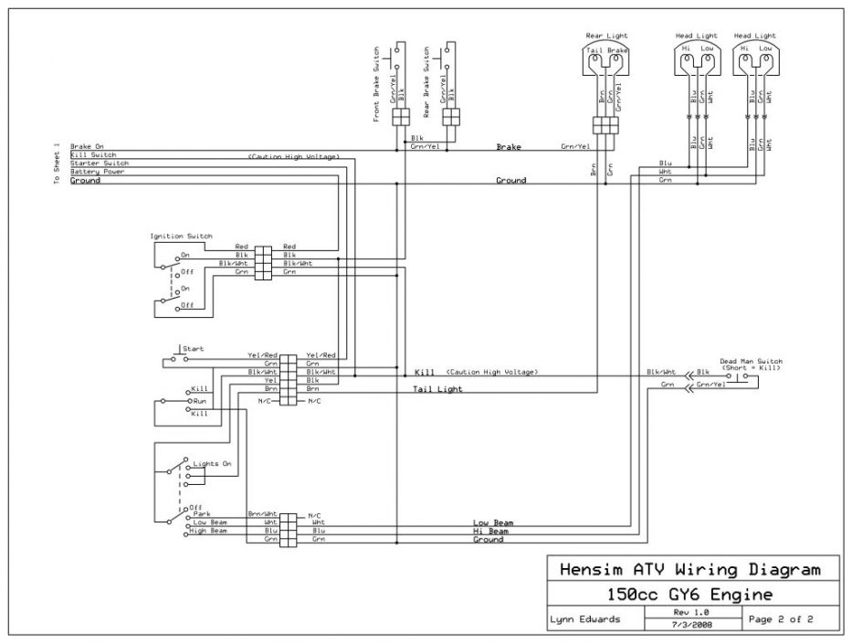 Gy6 Wiring Diagram With Schematic Pics 1124 | Linkinx intended for 150Cc Go Kart Wiring Diagram