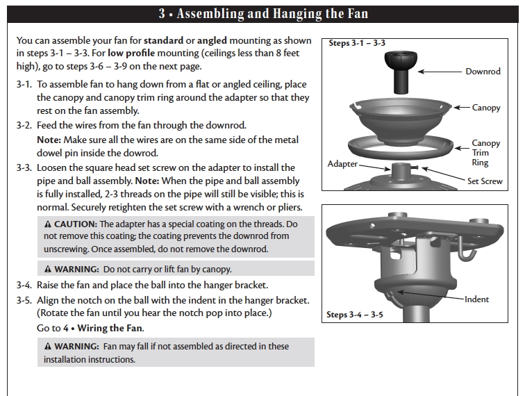 Hampton Bay Ceiling Fan Manual Ac | Winda 7 Furniture within Hampton Bay Ceiling Fan Wiring Diagram