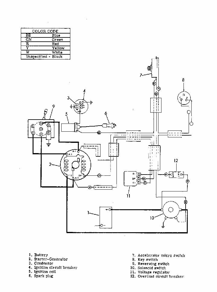 1987 ez go golf cart wiring diagram fuse box and wiring With ez wiring fuse box