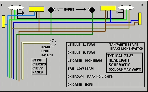 1974 Corvette Headlight Wiring Diagram | Fuse Box And ...