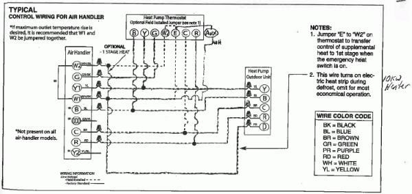 Heat Pump Wiring Diagram within Heat Pump Wiring Diagram