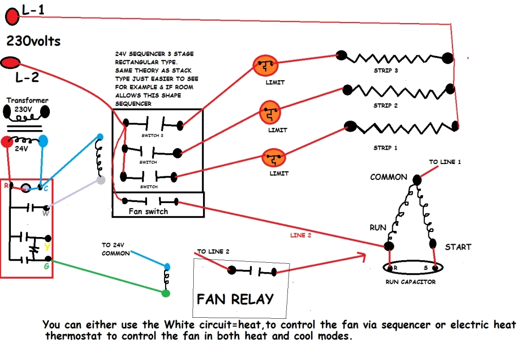 Heat Wire Diagram Nordyne Heat Pump Wiring Diagram Wiring Diagram in Heat Sequencer Wiring Diagram