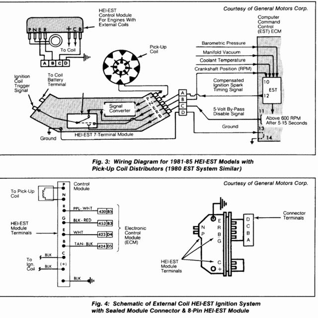 hei ignition wiring diagram 1985 chevy camaro chevy 350 wiring diagram to distributor | fuse box and ... #8
