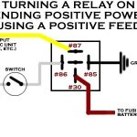 Help! Does Anyone Have A Wiring Diagram For Elect Fan, Switch, And within 12 Volt Relay Wiring Diagram