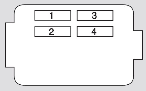 Honda Cr-V (2005 – 2006) – Fuse Box Diagram | Auto Genius regarding 2005 Honda Cr V Fuse Box Diagram