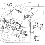 Honda Online Store : 1998 Prelude Engine Wire Harness Parts within 1998 Honda Prelude Wiring Diagram